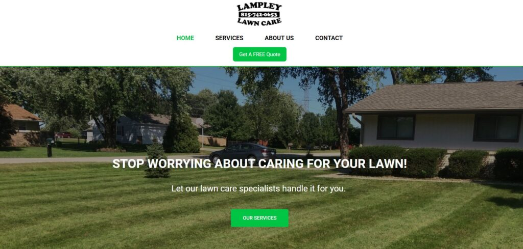 Picture of lampleylawncare.com