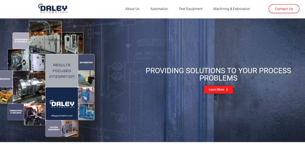 Website of Daley Automation